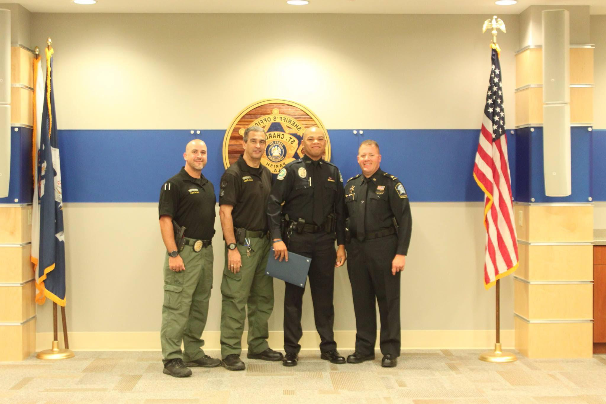 Police Academy Graduation for Ofc. Thomas 2016